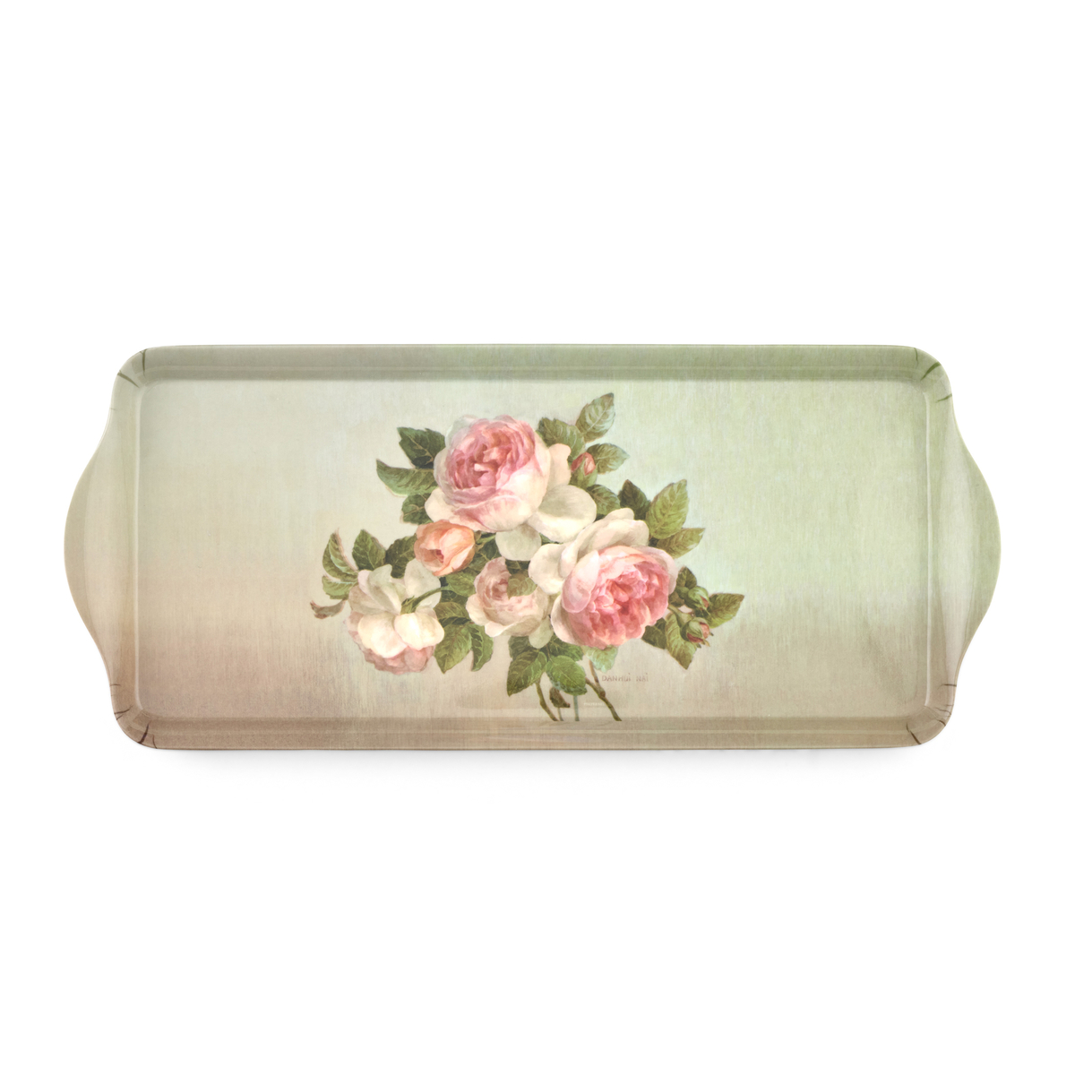 Pimpernel Antique Roses Sandwich Tray image number 0