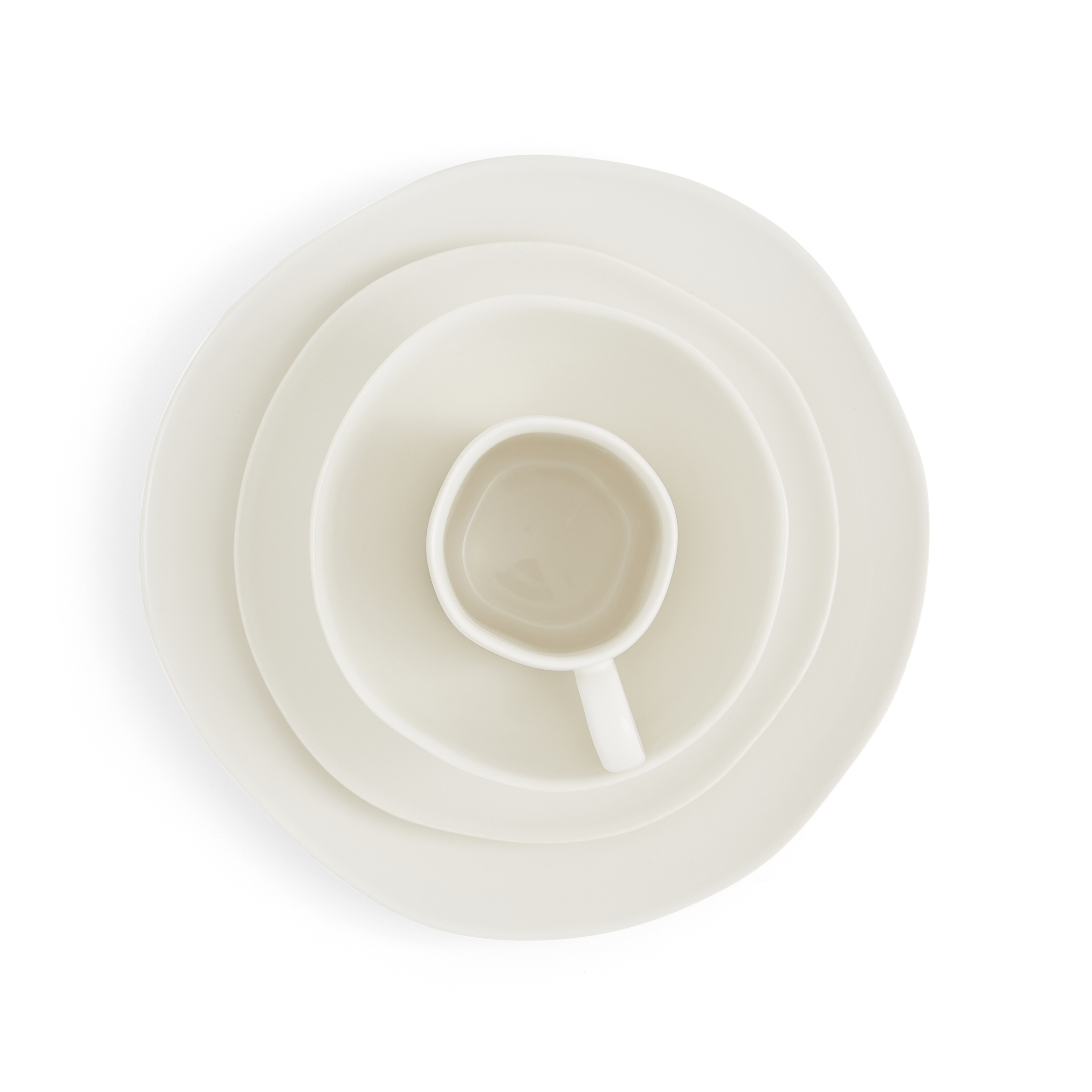 Sophie Conran Arbor 4 Piece Place Setting- Creamy White image number 1
