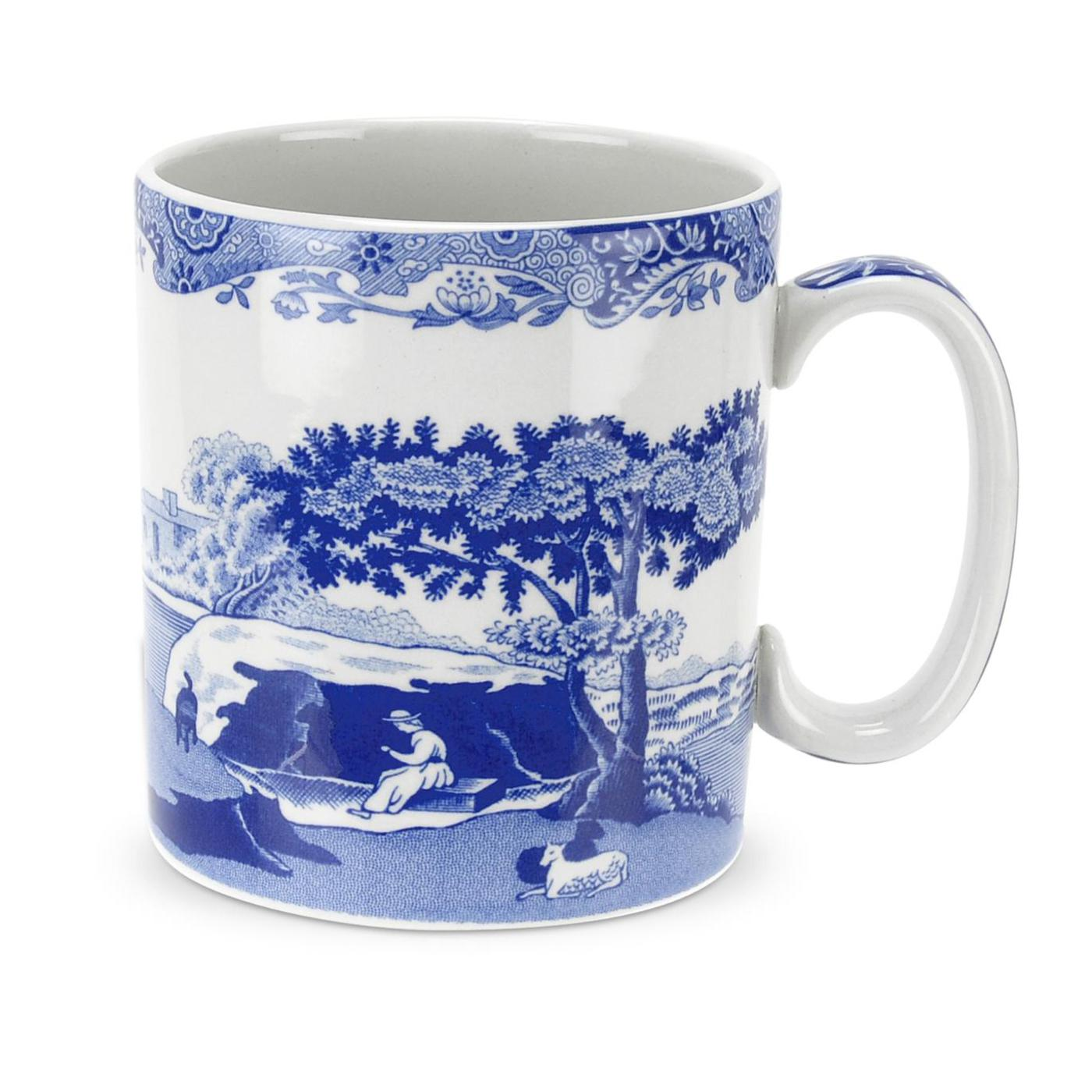 Spode Blue Italian Set of 4 9 oz Mugs image number 0