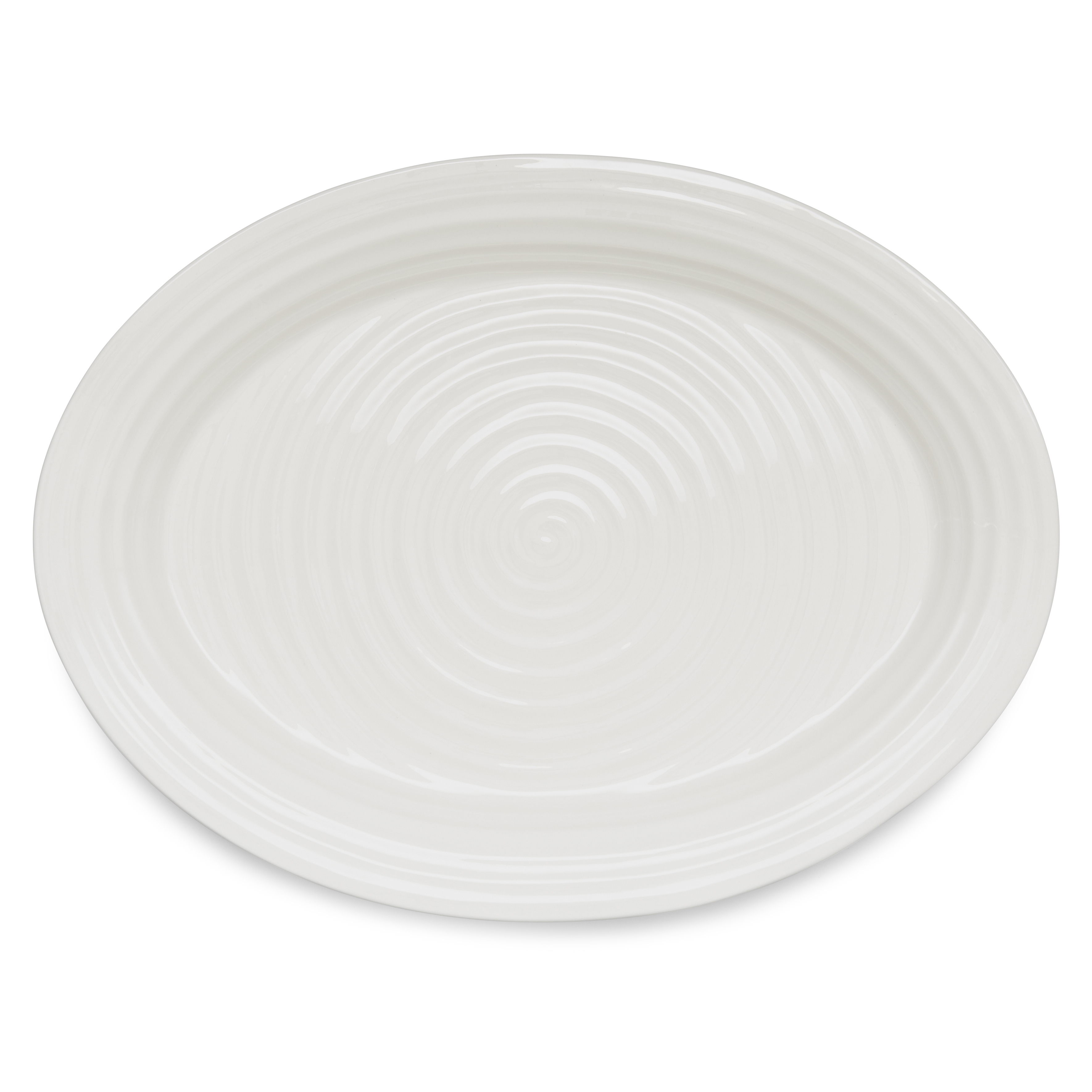 Portmeirion Sophie Conran White Large Oval Platter image number 0