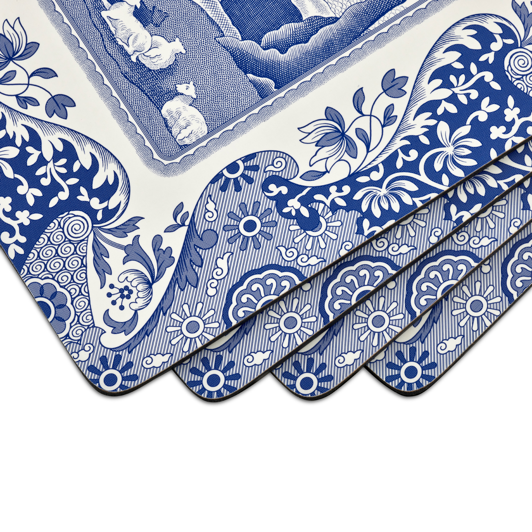 Pimpernel Blue Italian Placemats Set of 4 image number 1