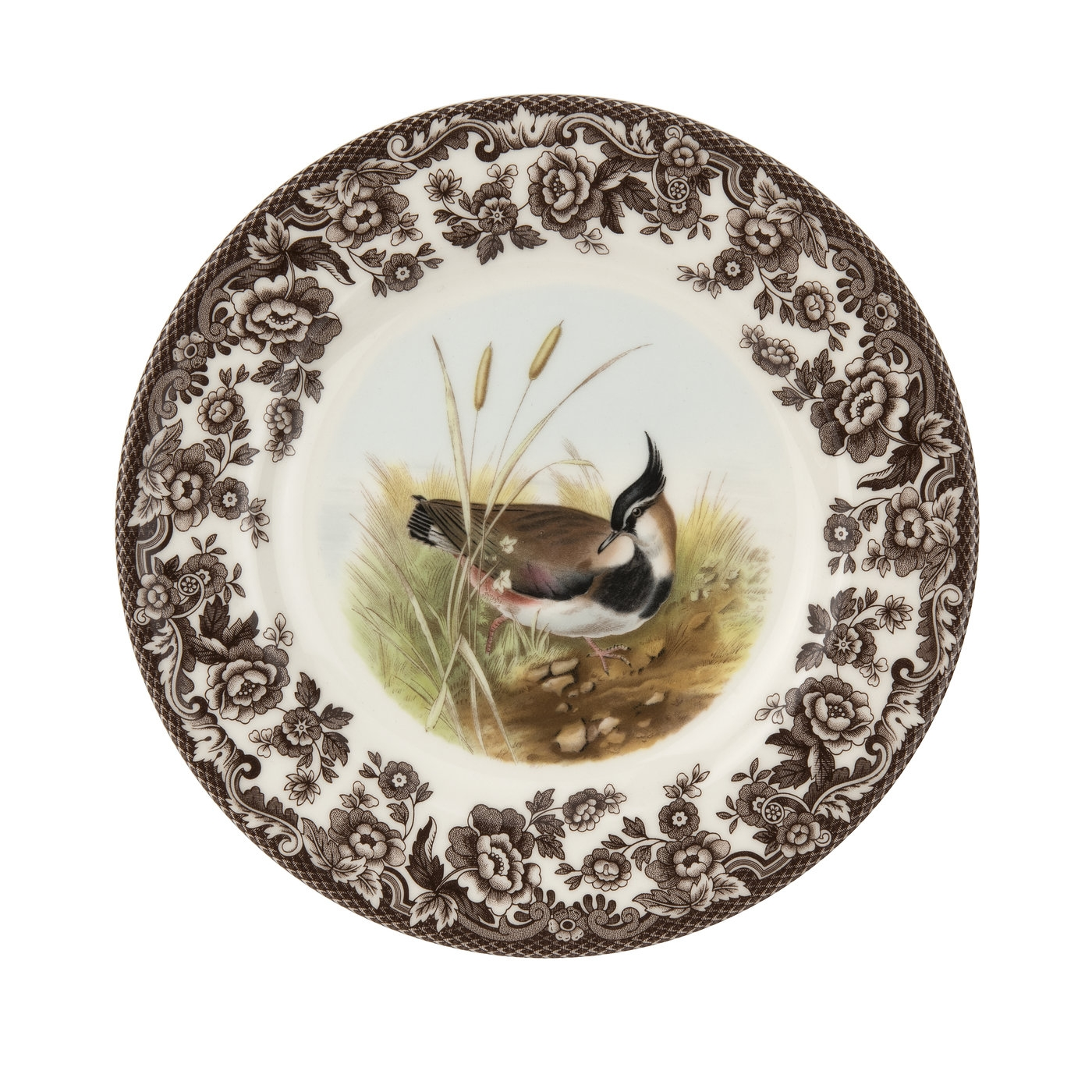 Spode Woodland Salad Plate 8 Inch  (Lapwing) image number 0