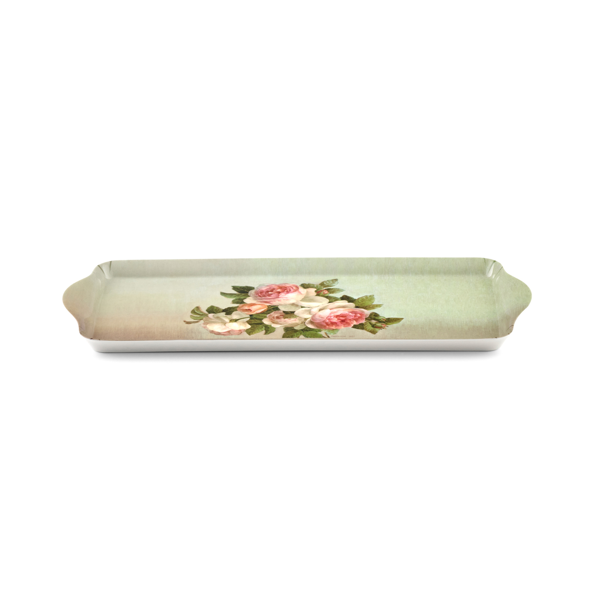 Pimpernel Antique Roses Sandwich Tray image number 1