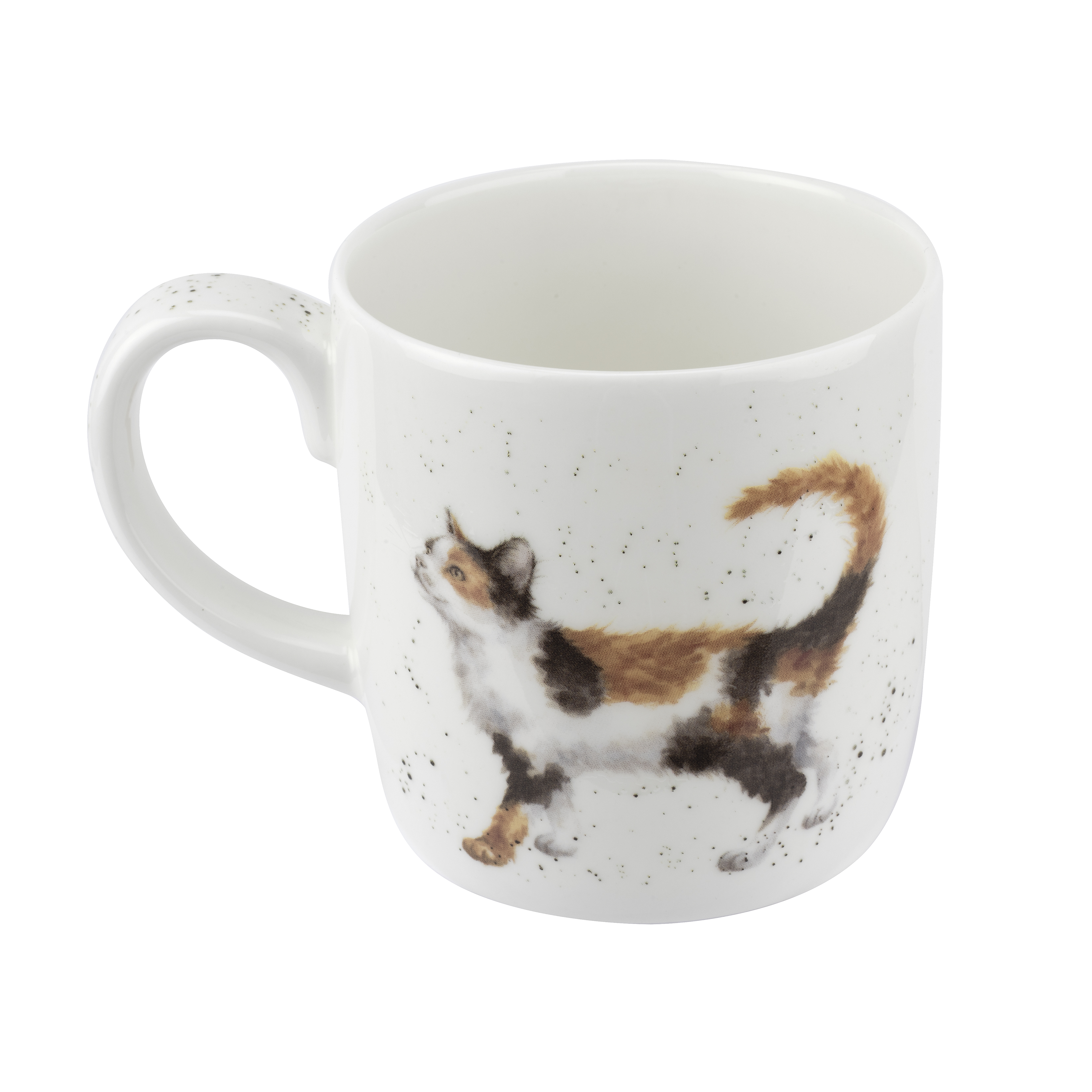 Royal Worcester Wrendale Designs Mug 14 Ounce Feline Fine (Cat) image number 1
