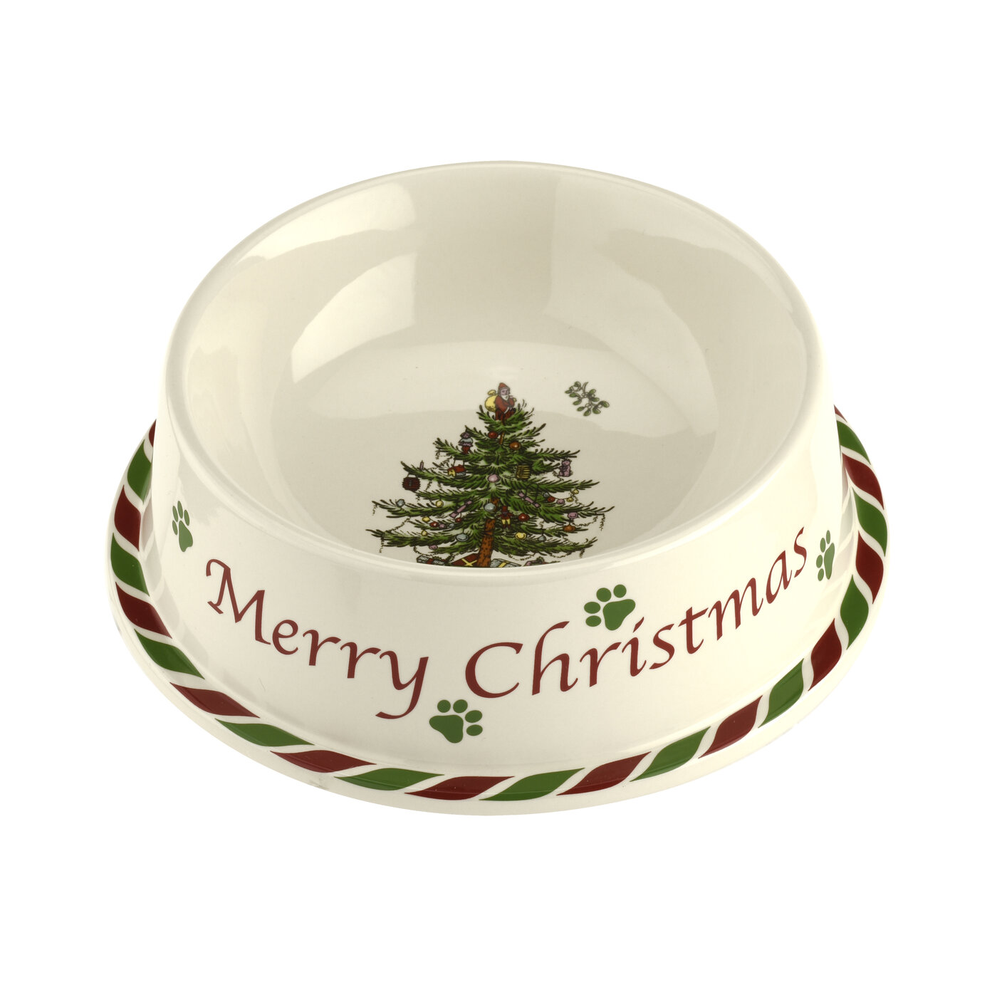 Spode Christmas Tree  Pet Bowl 7 Inch image number 0