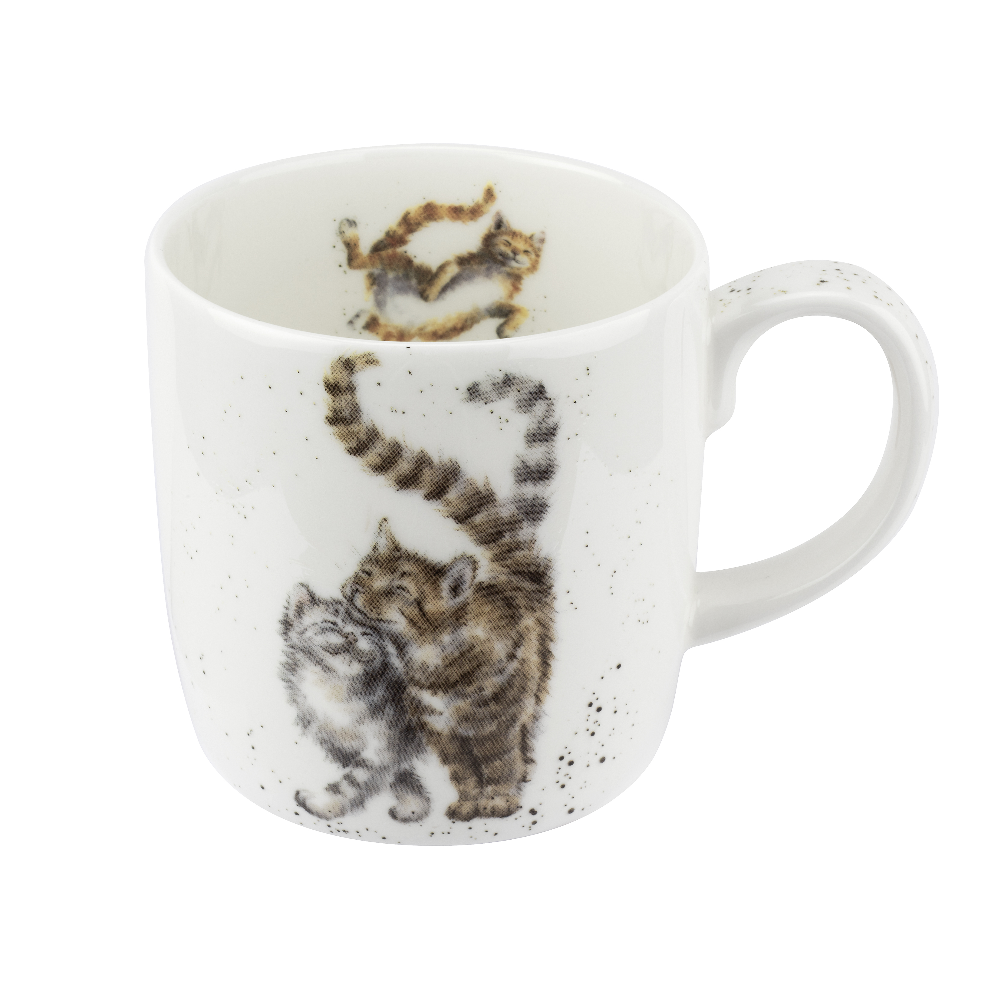 Royal Worcester Wrendale Designs Mug 14 Ounce Feline Fine (Cat) image number 0