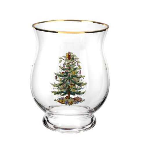 Spode Christmas Tree Hurricane Lamp 6.5 Inch image number 0