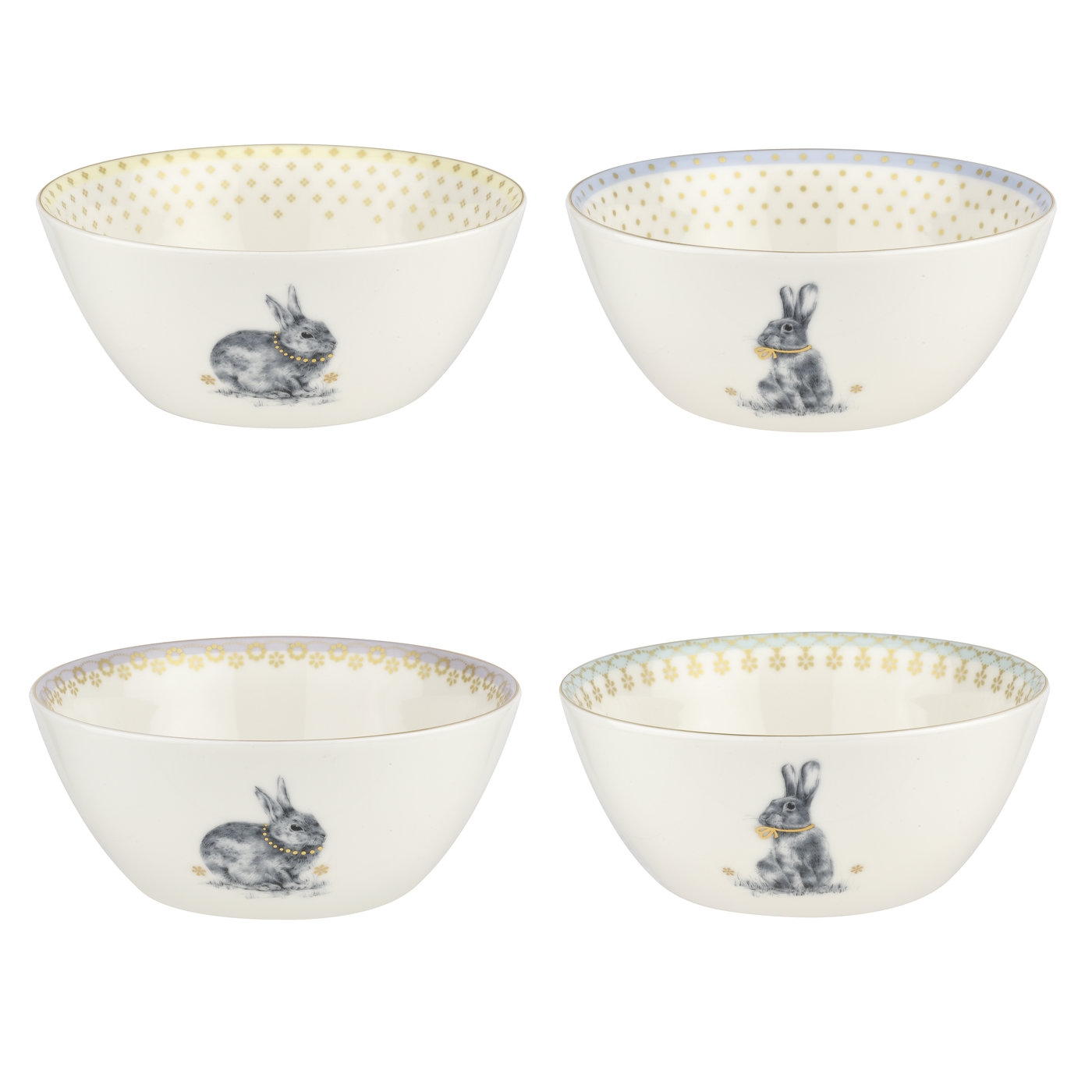 Spode Meadow Lane 6 Inch Cereal Bowl Set of 4 image number 0
