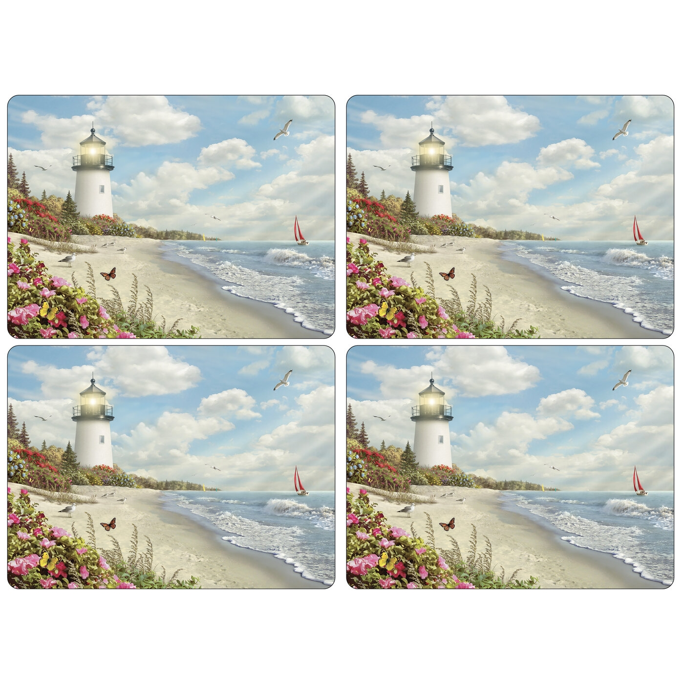 Pimpernel Rays Of Hope Placemats Set of 4 image number 0