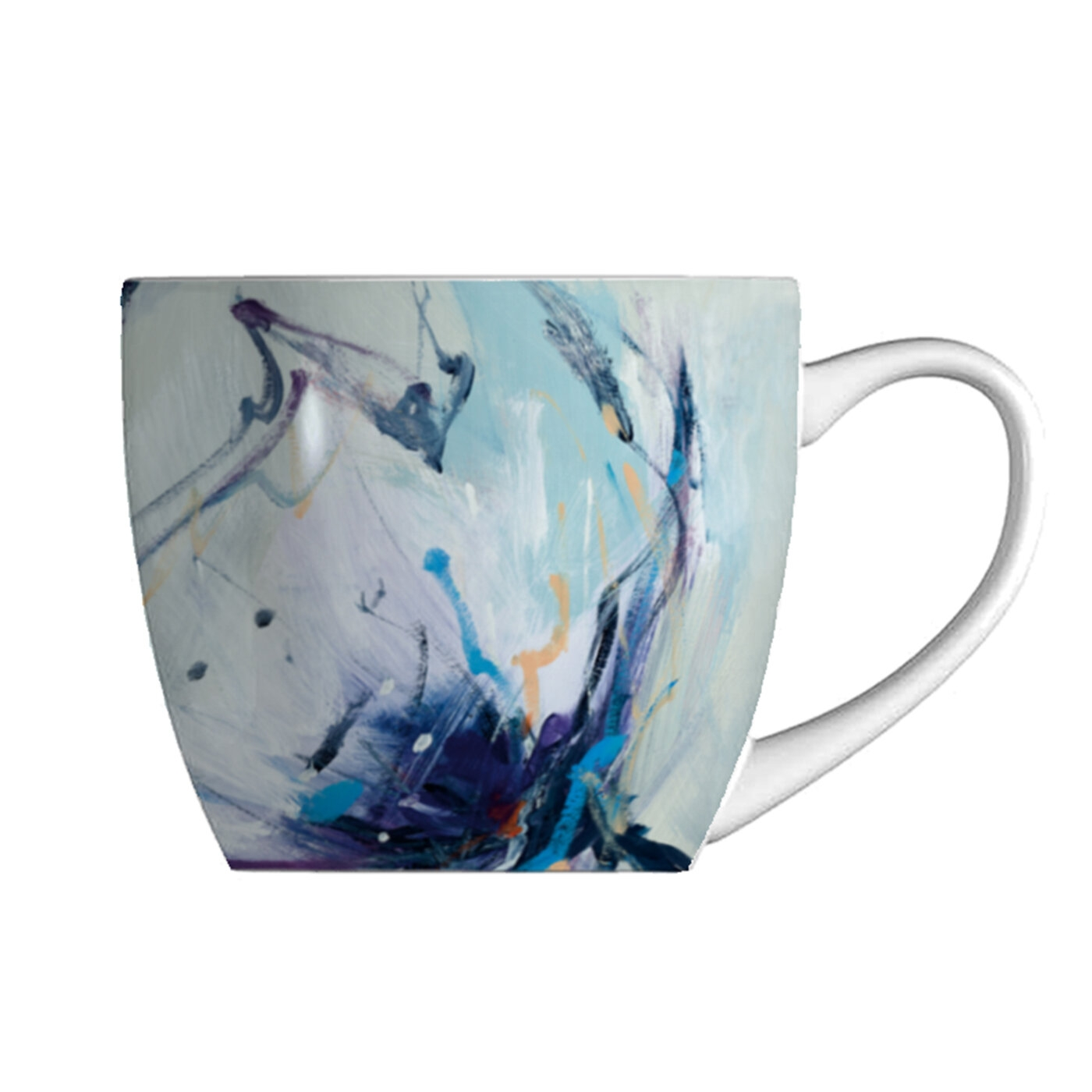 Pimpernel Blooms in Lilac 16 oz Mug image number 0