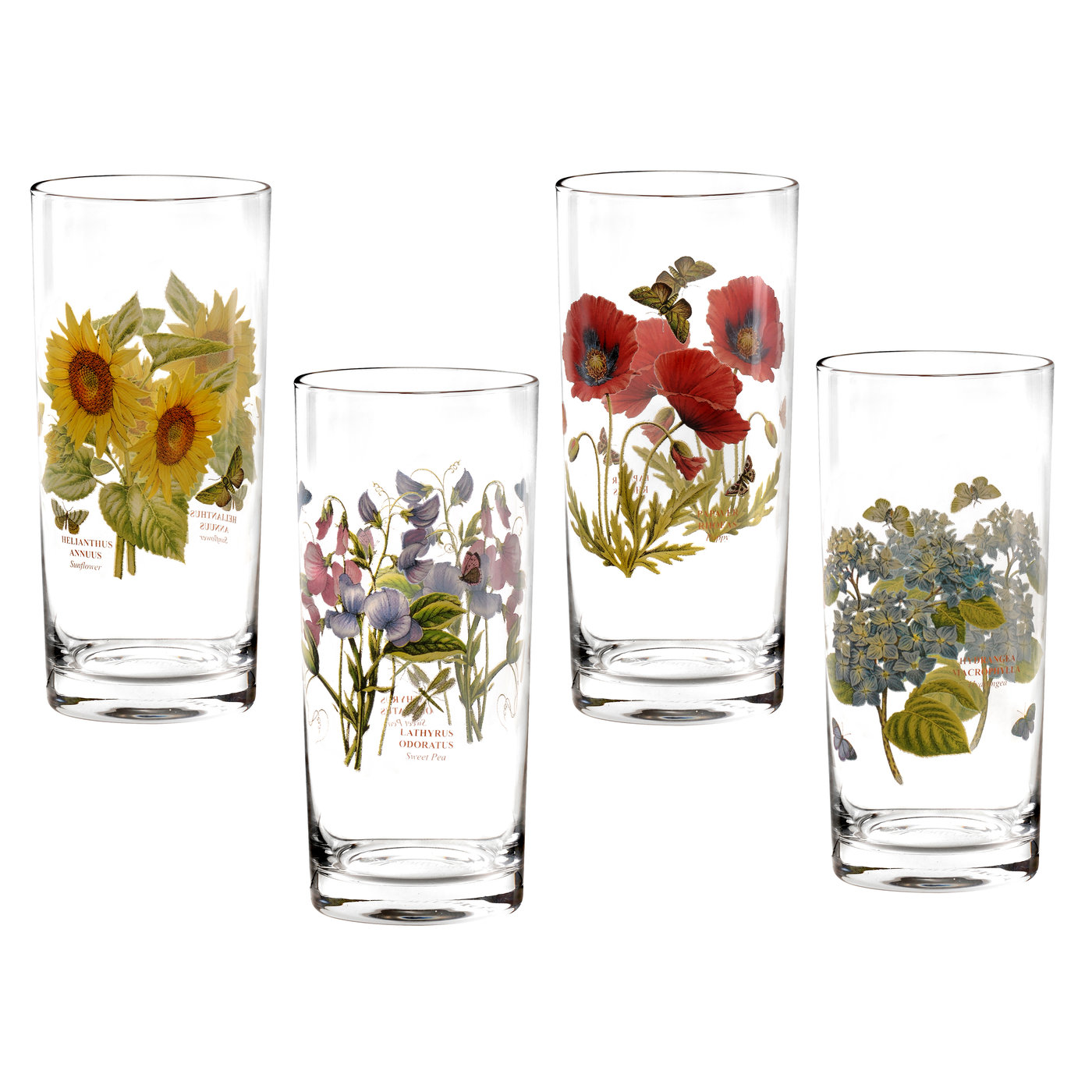 Portmeirion Botanic Garden Set of 4 Highball Glasses image number 0