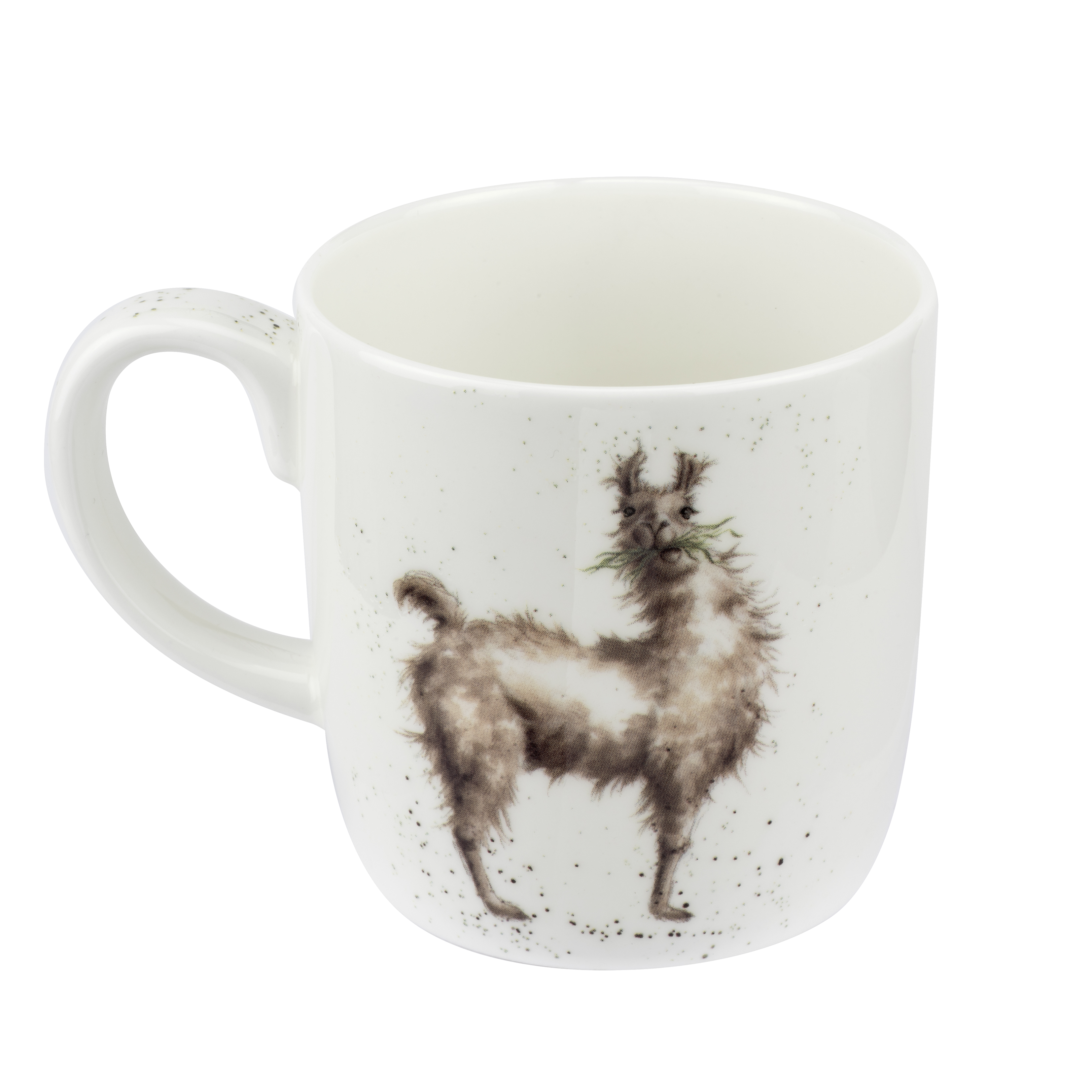Royal Worcester Wrendale Designs  Mug 14 Ounce Because I Am Worth It (Llama) image number 2