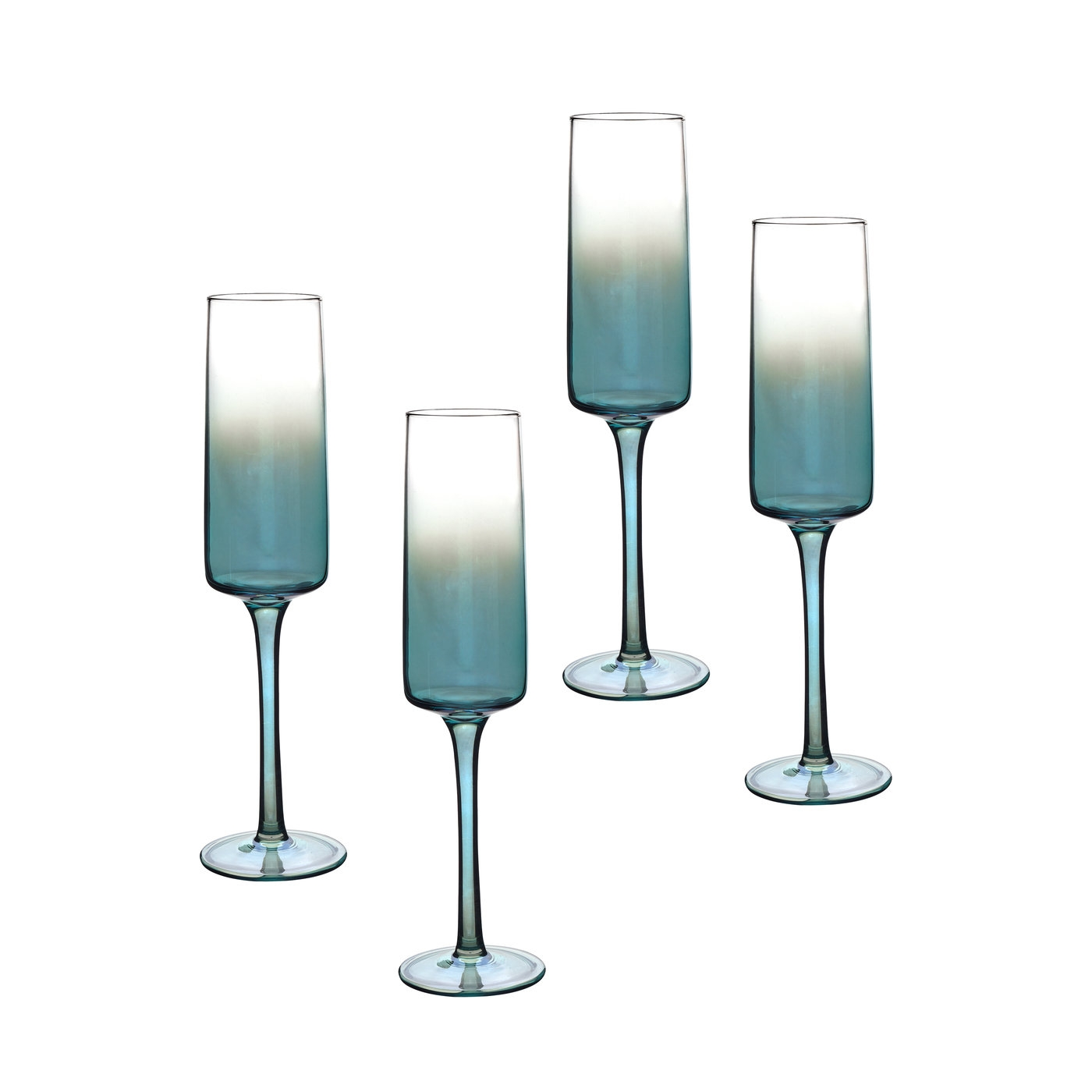 Portmeirion Atrium Champagne Flute Set of 4 image number 0
