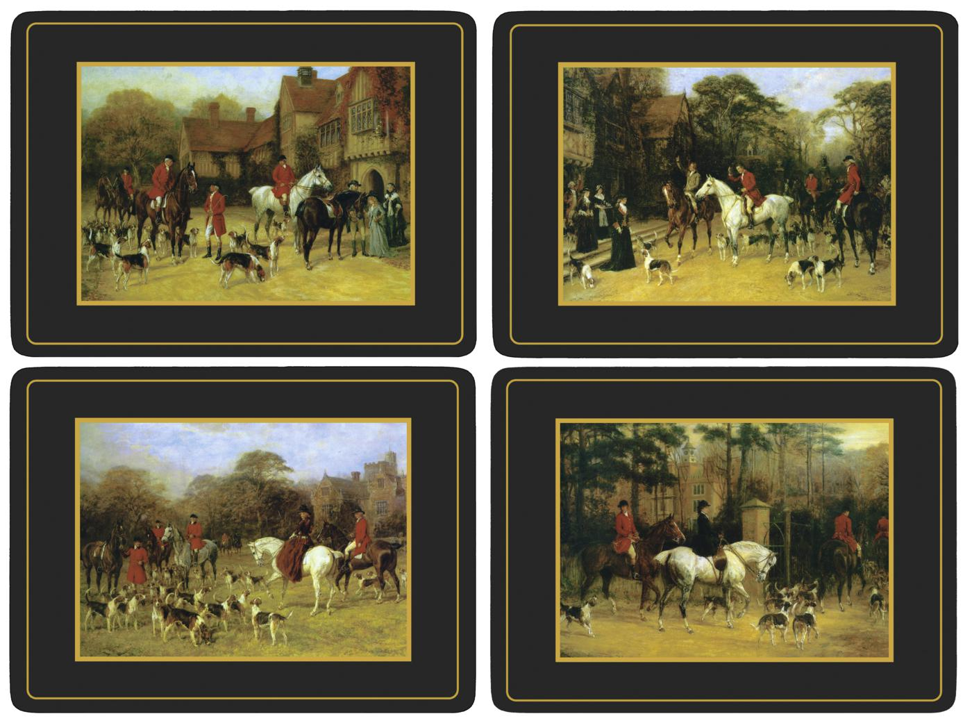 Pimpernel Tally Ho Placemats Set of 4 image number 0