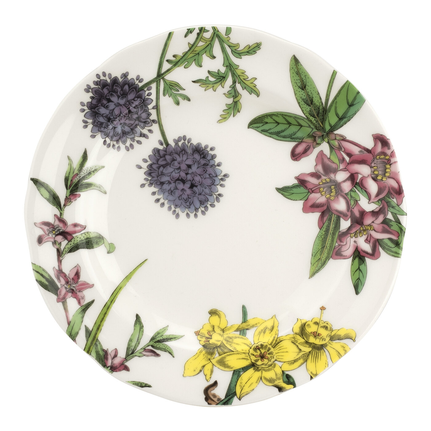 Spode Stafford Blooms 7.5 Inch Salad Plate image number 0