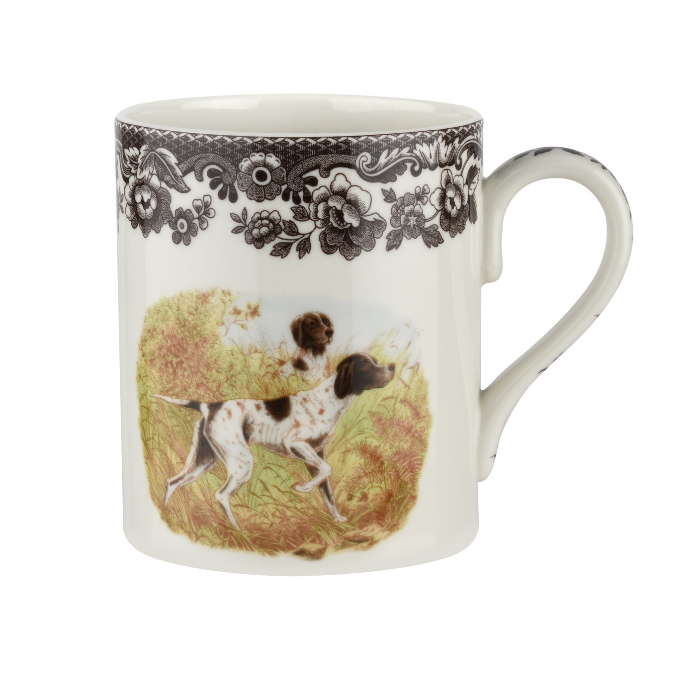 Spode Woodland 16 oz Mug (Flat Coated Pointer) image number 0