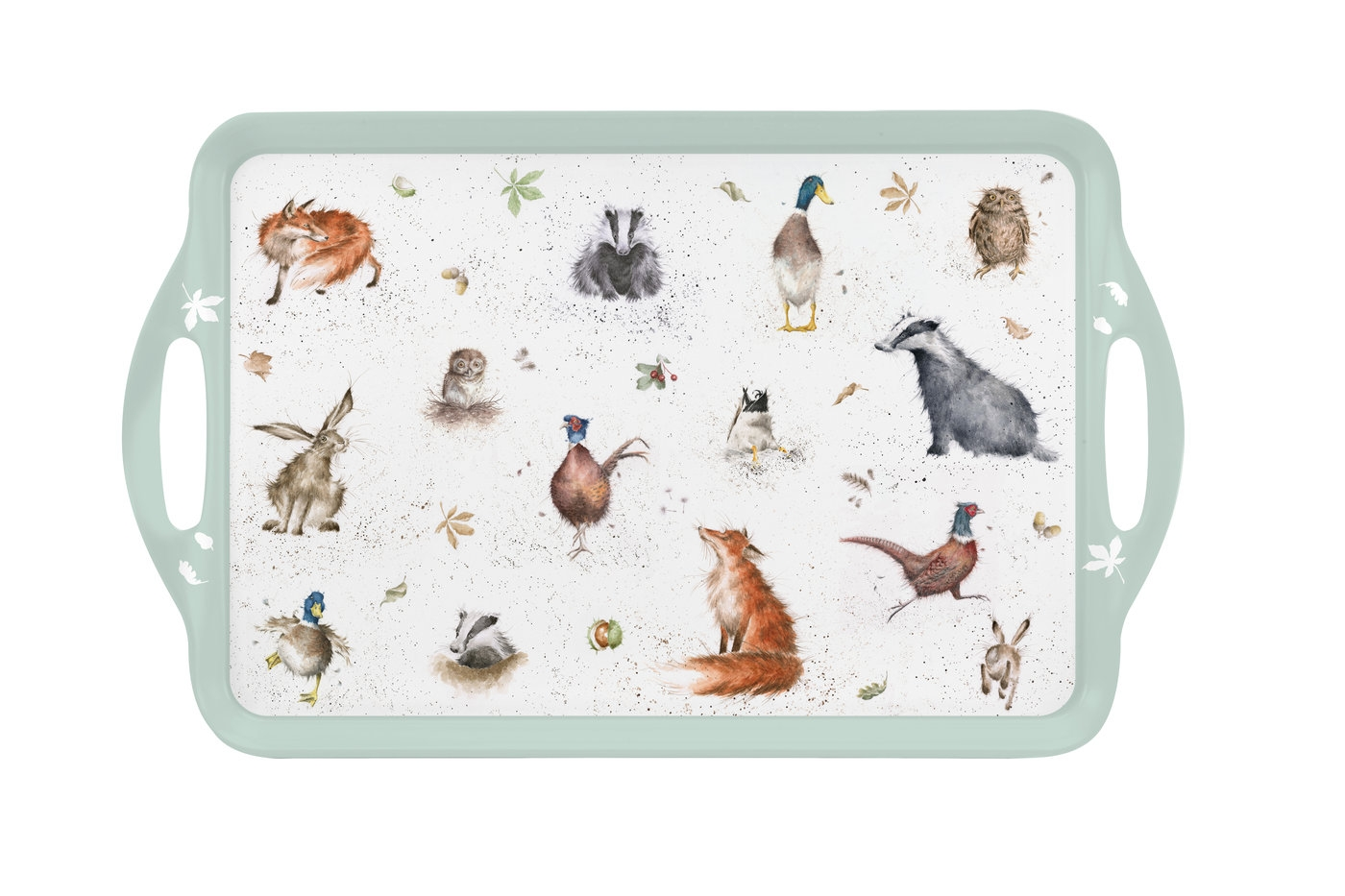 Pimpernel Wrendale Designs Large Melamine Handled Tray  image number 0