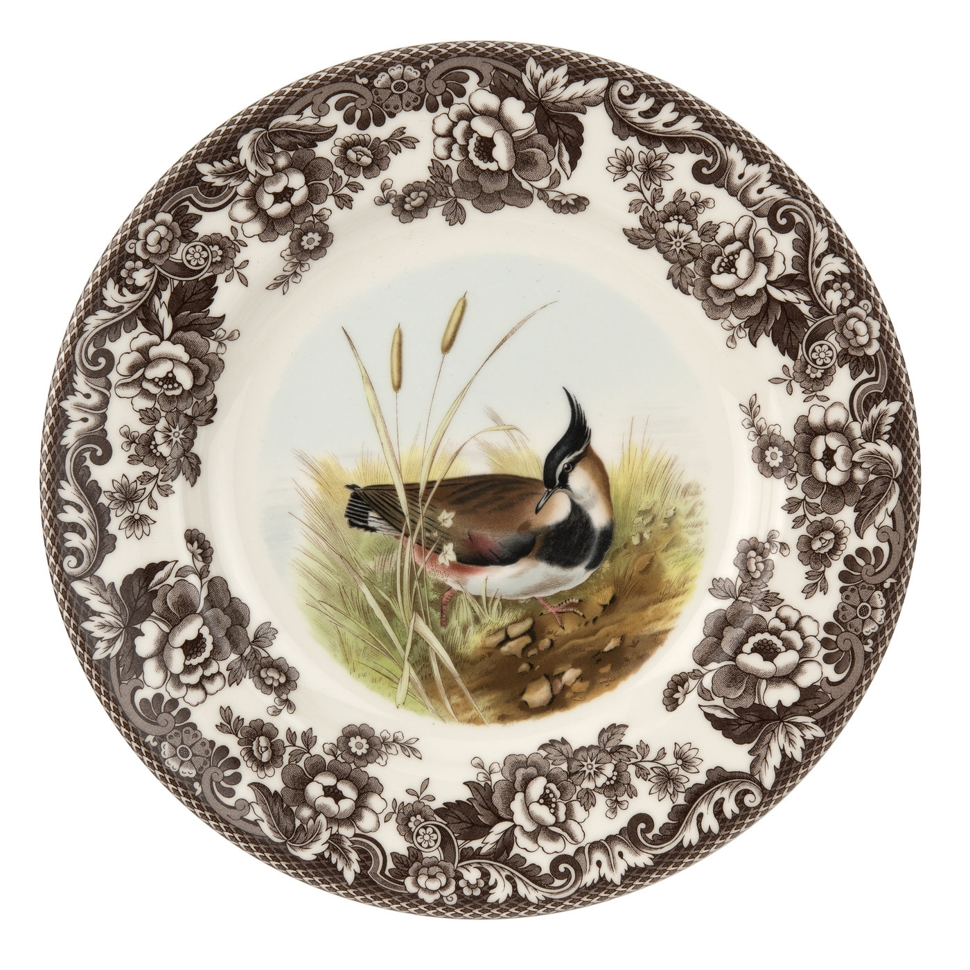 Spode Woodland Dinner Plate 10.5 Inch (Lapwing) image number 0