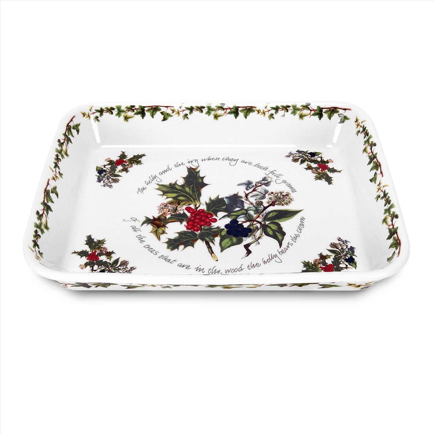 Portmeirion The Holly and The Ivy Lasagne Dish image number 0