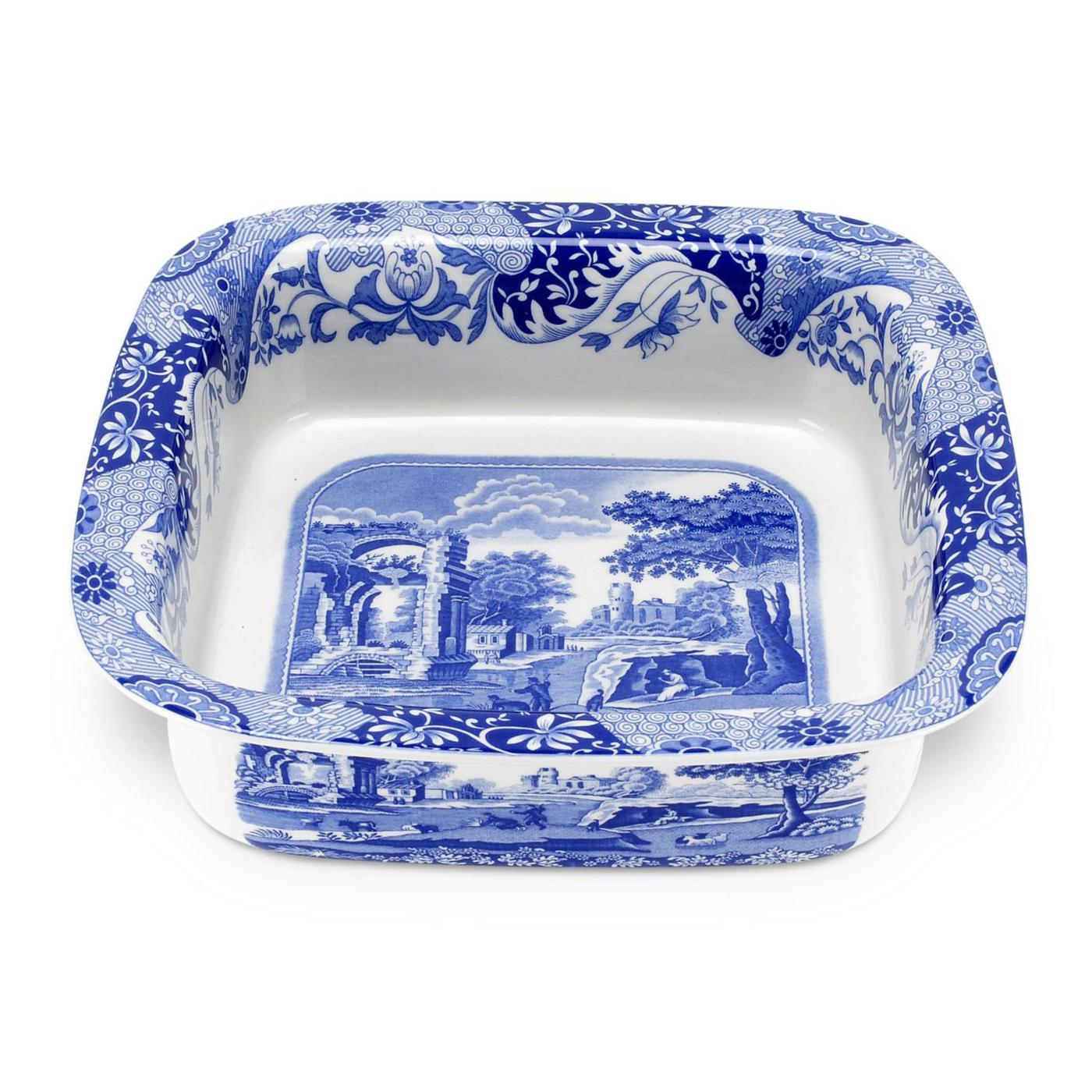 Spode Blue Italian Square Dish image number 0
