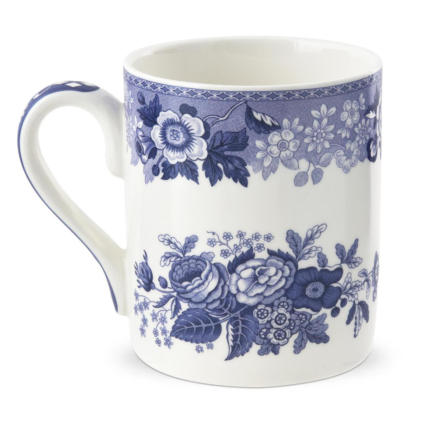 Spode Blue Room Blue Rose Mug image number 0