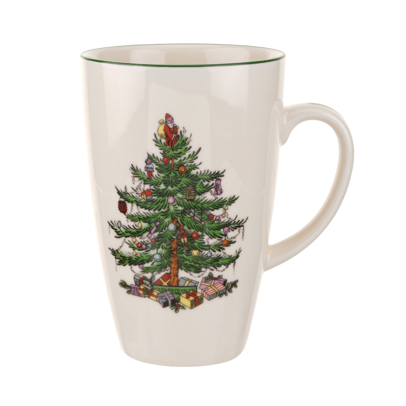 Spode Christmas Tree Latte Mug image number 0
