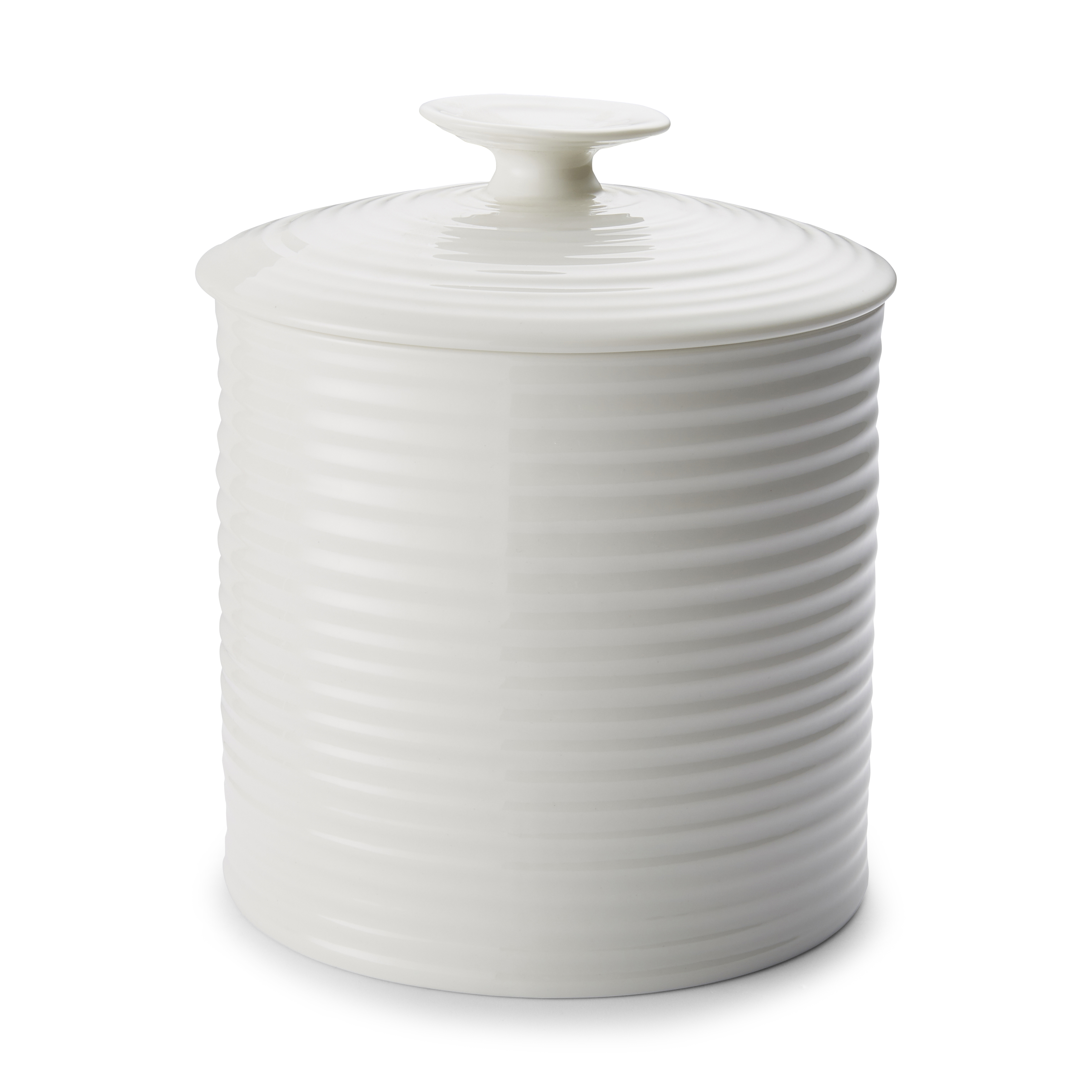 Portmeirion Sophie Conran White Large Canister image number 0