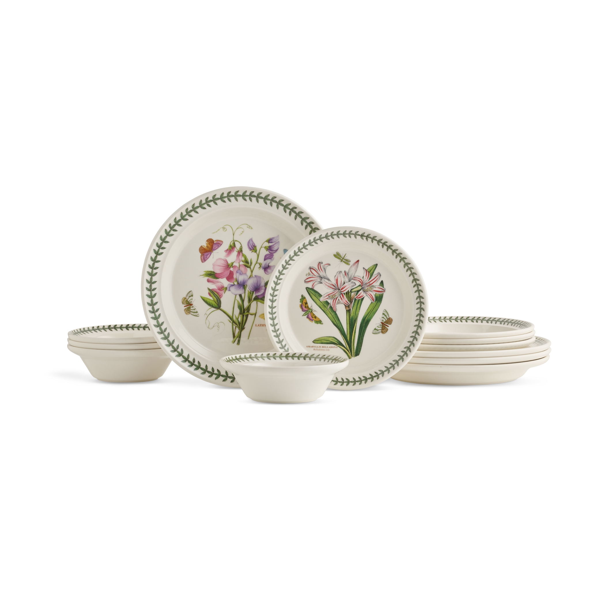Portmeirion Botanic Garden 12-Piece Set Made In England image number 0
