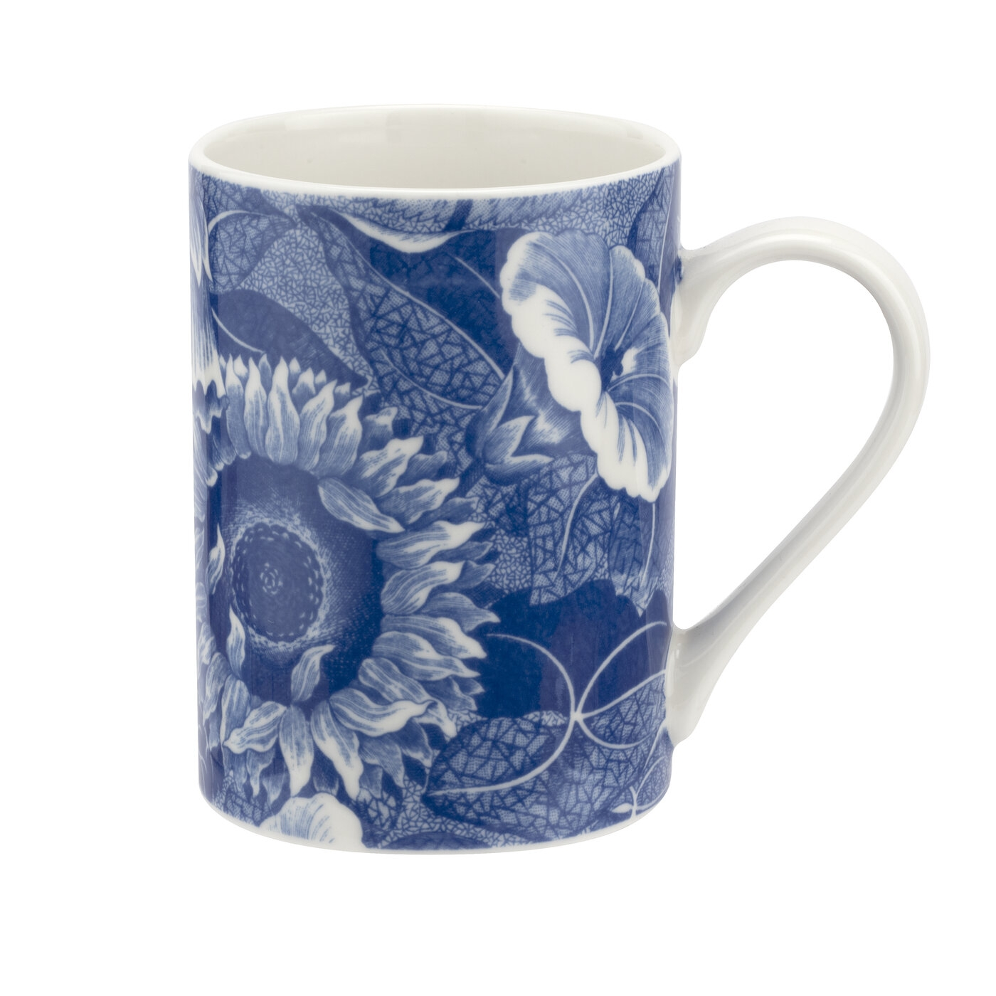 Spode Blue Room Sunflower 15 Ounce Mug image number 0