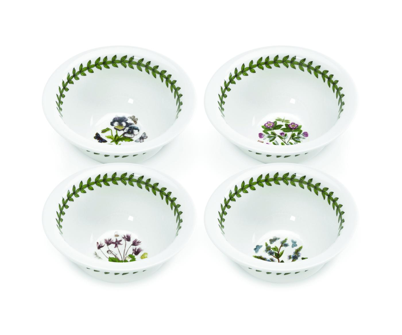 Botanic Garden Set of 4 Round Mini Bowls (Assorted Motifs) image number 0